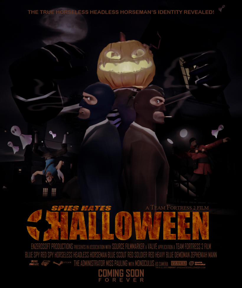 Spies Hates Halloween Poster by Enzerosoft