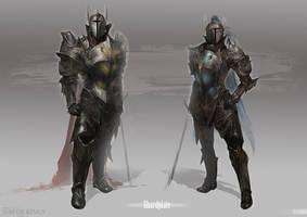 Shardplate Concept by quargon