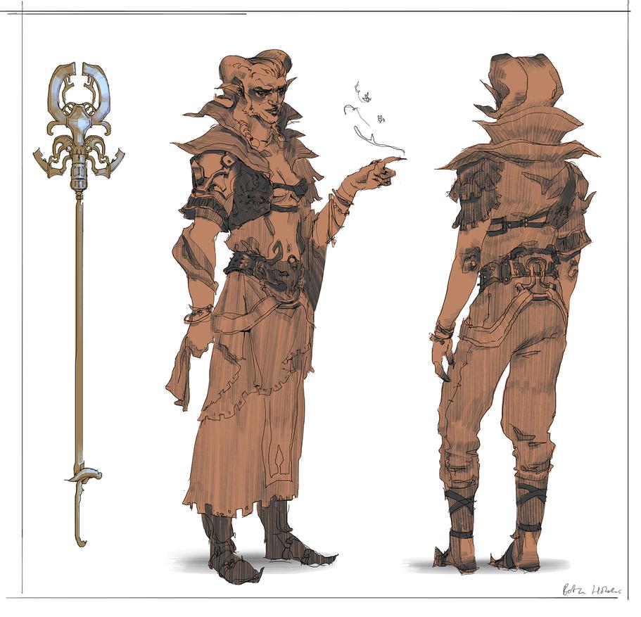 Warlock by quargon