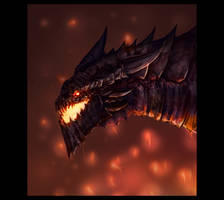 Deathwing the Destroyer by HaxOrran