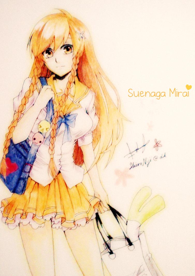 Suenaga Mirai by ShiroNiji
