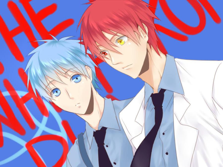 Akashi and Kuroko by ShiroNiji