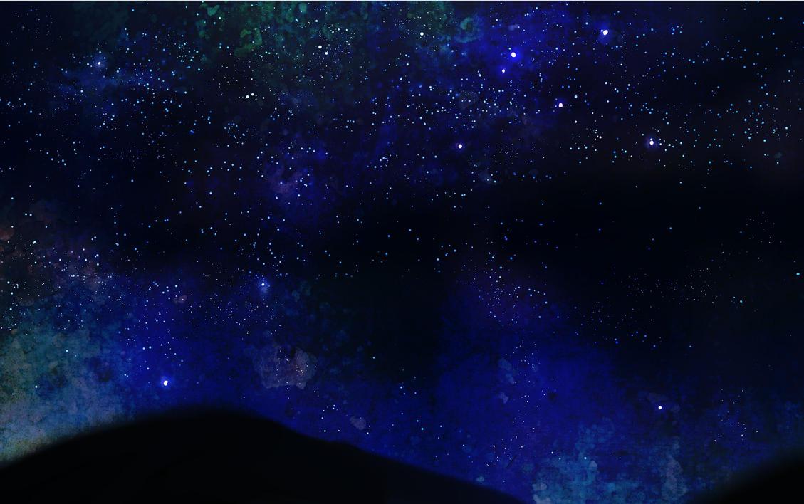Starry sky by ShiroNiji on DeviantArt