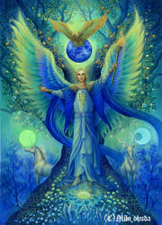 Archangel Michael.Tree of Life