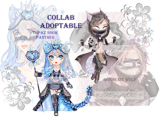Collab Adoptable [OPEN] by Yokina-Miko