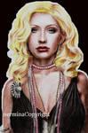 Christina Aguilera in color