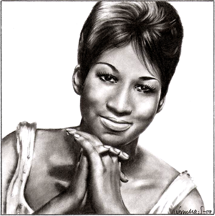 Aretha Franklin by SugarSunset