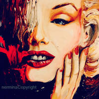Red Lipstick - Marilyn