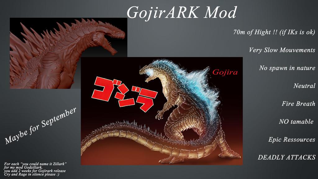 Gojirark info by pepezilla