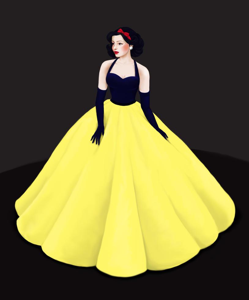 Snow White by Katifisen