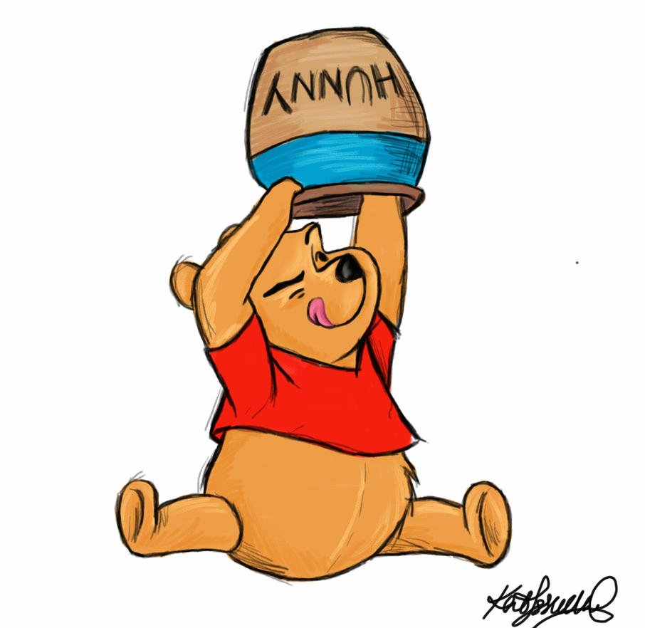 Mr. Pooh by Katifisen