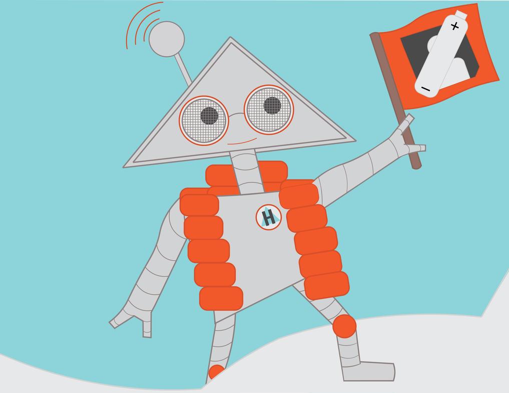 Harvey the Robot by AutumnalBloom