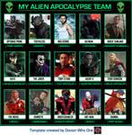 My Alien Apocalypse Team