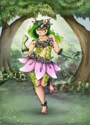 Super Grass Girl Commission by SailorSun546