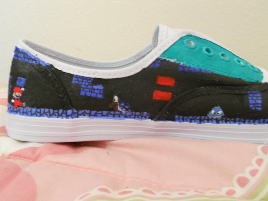 Super Mario Shoes pic. 4 by AkirasArtWorld