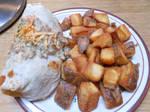 Country Fried Burrito by AkirasArtWorld