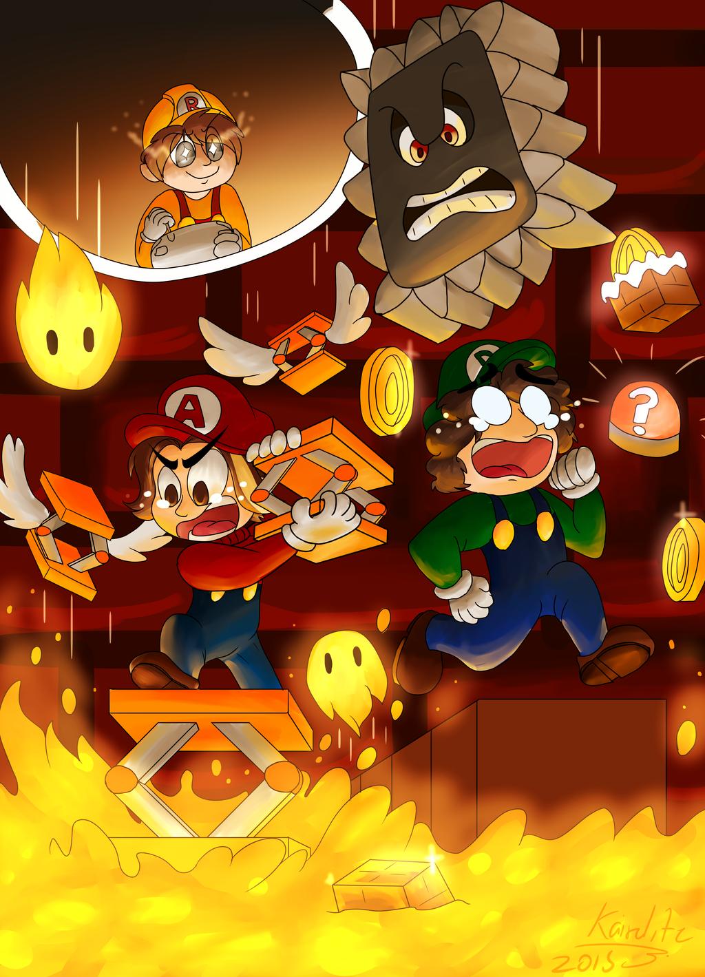 Game Grumps Super Mario Maker By Kazarimaple On Deviantart