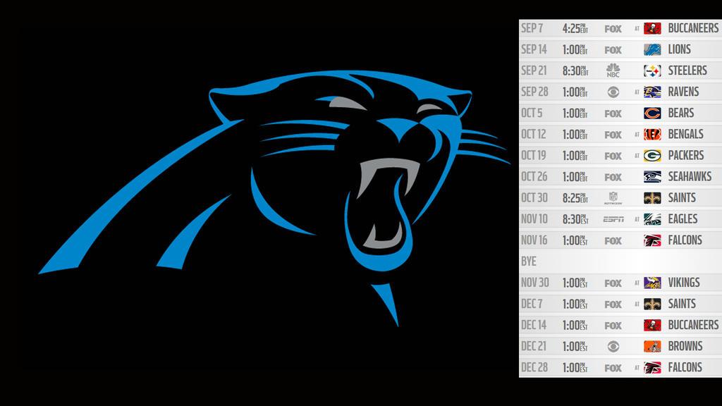 Carolina panthers 2014 schedule wallpaper by tdog85 on - Carolina panthers mobile wallpaper ...