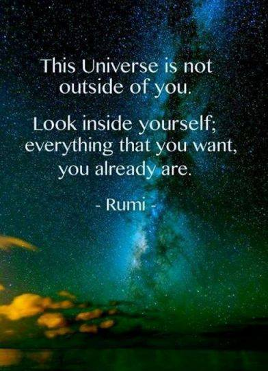 Everything that you are Rumi by alter-ipse-amicus