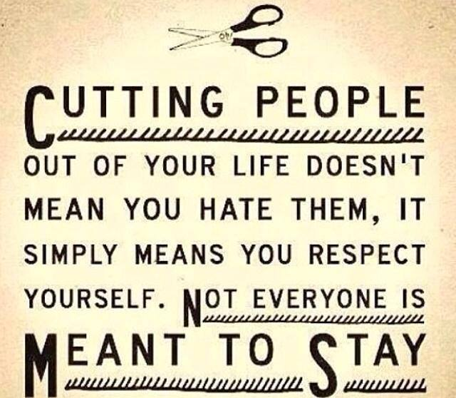 Cutting people out by alter-ipse-amicus