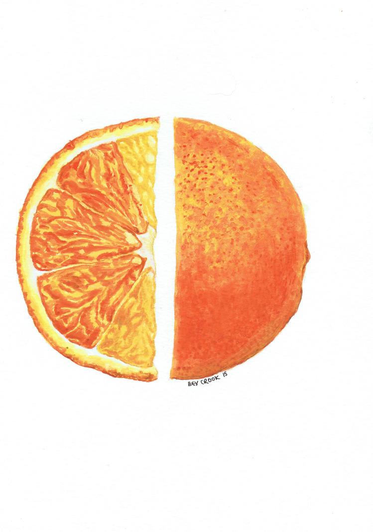 Split orange by alter-ipse-amicus