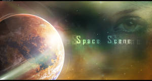 Space Scene by D-BH