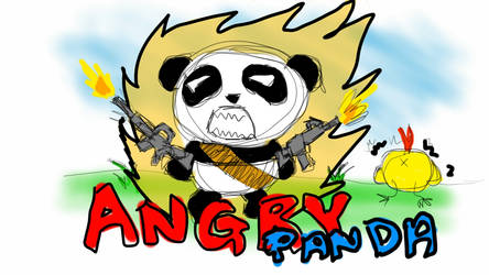 Angry Panda by Bj03