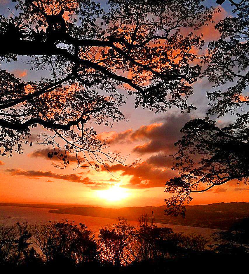 Tobago sunset...-- by burcyna