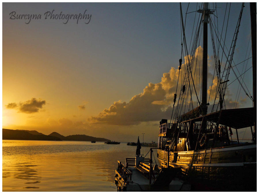 In the harbour,.--,.,- by burcyna