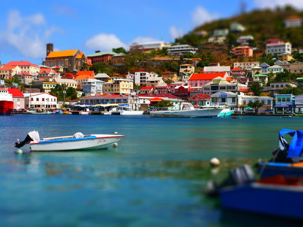 St.Georges, Grenada by burcyna