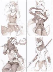 ~Marker sketches~
