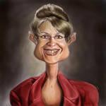Govener Palin Caricature mmm