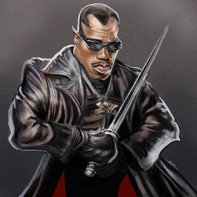 Blade Caricature by jonesmac2006