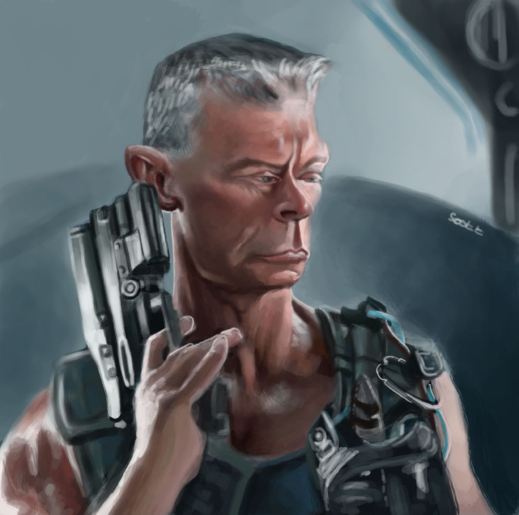 Colonel Miles Quaritch By Jonesmac2006 On DeviantArt