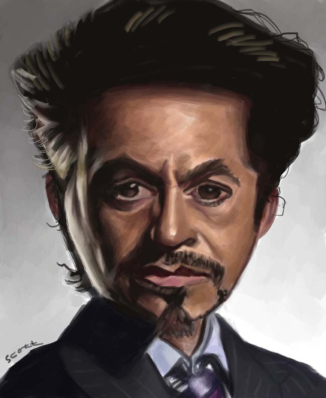 Tony Stark by jonesmac2006