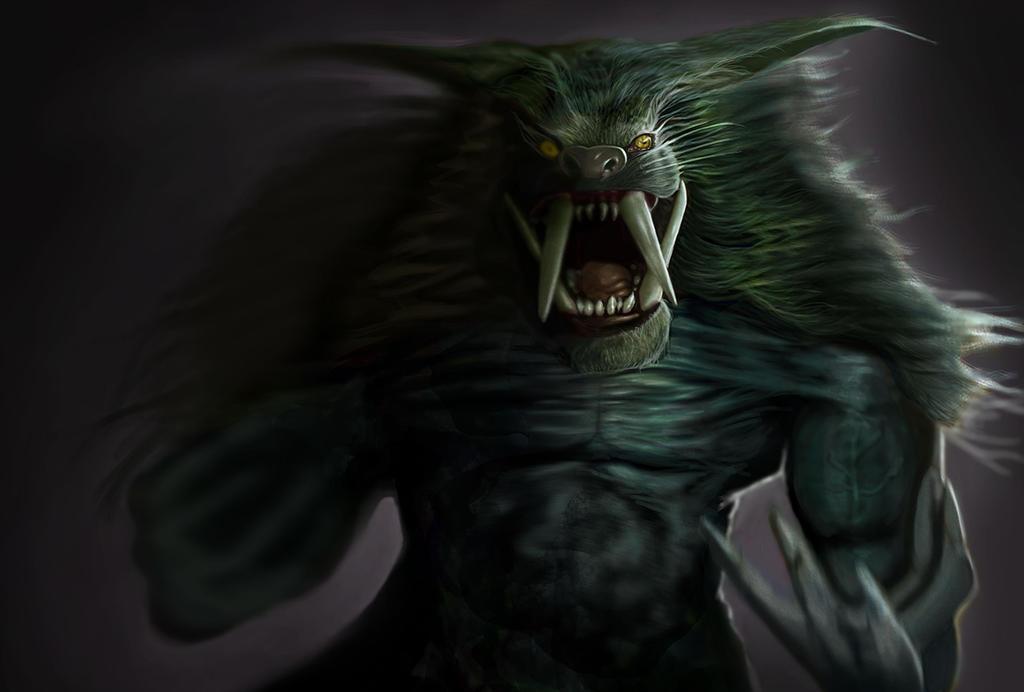 Beast with teeth by jonesmac2006