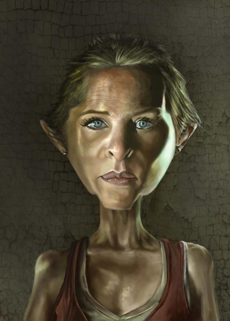 Carol, The Walking Dead by jonesmac2006