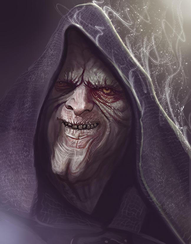 The Emperor caricature