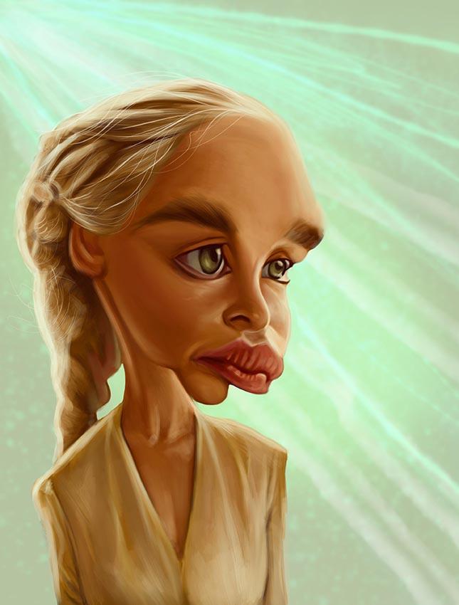 Khaleesi by jonesmac2006