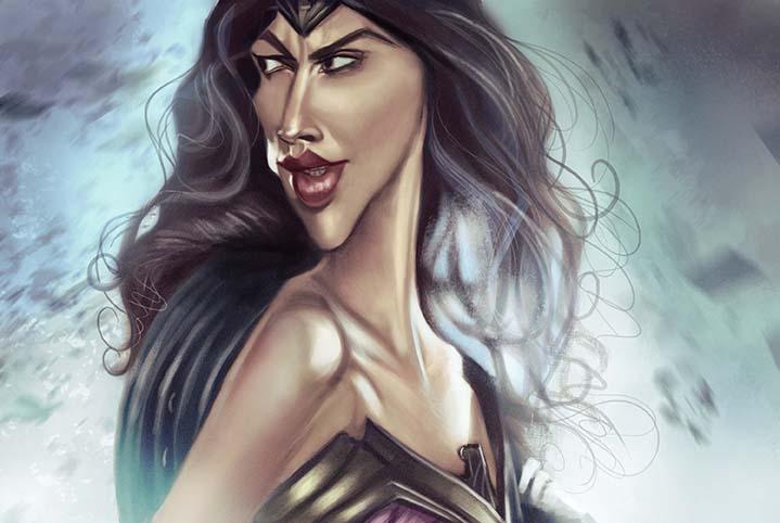 Wonder Woman Gal Gadot by jonesmac2006