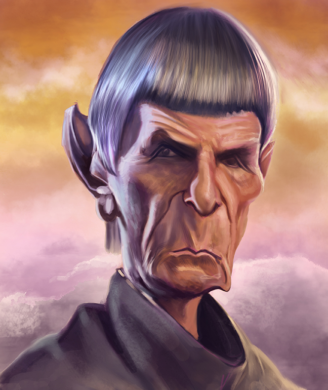 Spock by jonesmac2006