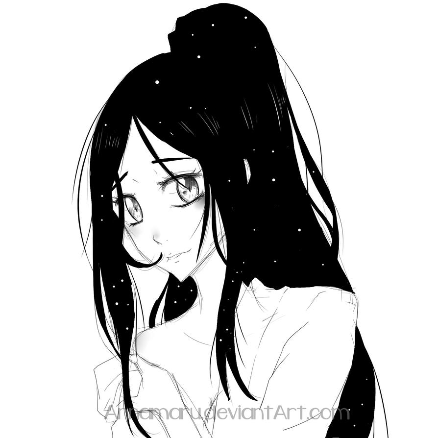 [EnR] Aiko headshot by Annamaru