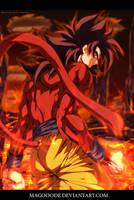 Goku ss4 by Magooode