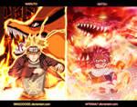 Naruto And Natsu (collab) by Magooode