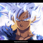 Goku Ultra Instinct (Silver)