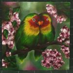 Lovebirds by MargeryArt