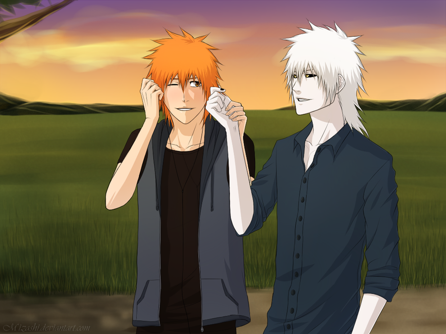 Art Trade: HichigoxIchigo by Mizashi