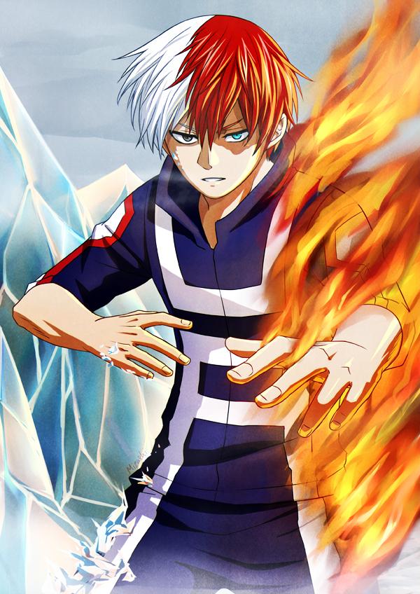 Boku no Hero Academia: Todoroki Shouto by Mizashi