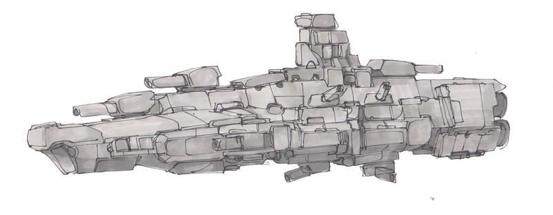 Starship Sketches #6