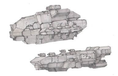 Starship Sketches #7